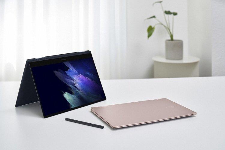 سامسونگ از لپ تاپهای گلکسی بوک خود رونمایی کرد