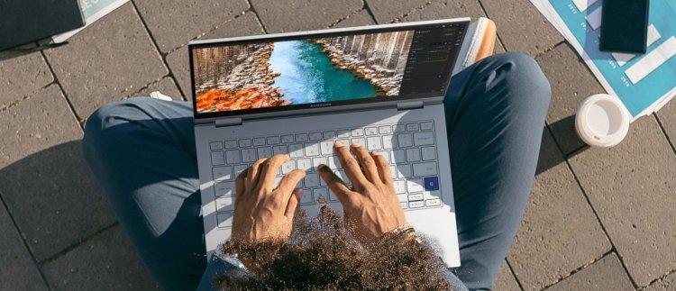 لپ تاپ گلکسی بوک فلکس 2 آلفا سامسونگ به قیمت 849 دلار معرفی شد