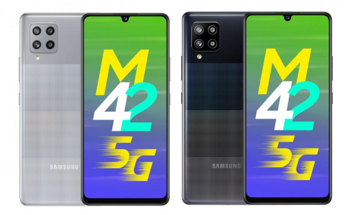 گوشی گلکسی M42 5G سامسونگ رسما معرفی شد