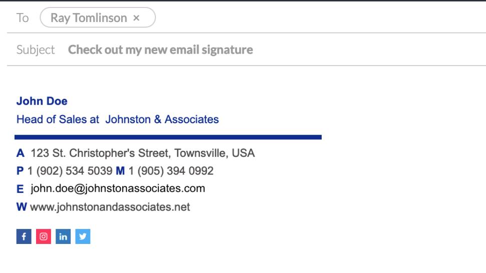 یک امضای حرفهای کمک زیادی به حرفهای تر شدن هر چه بیشتر ظاهر ایمیلها میکند
