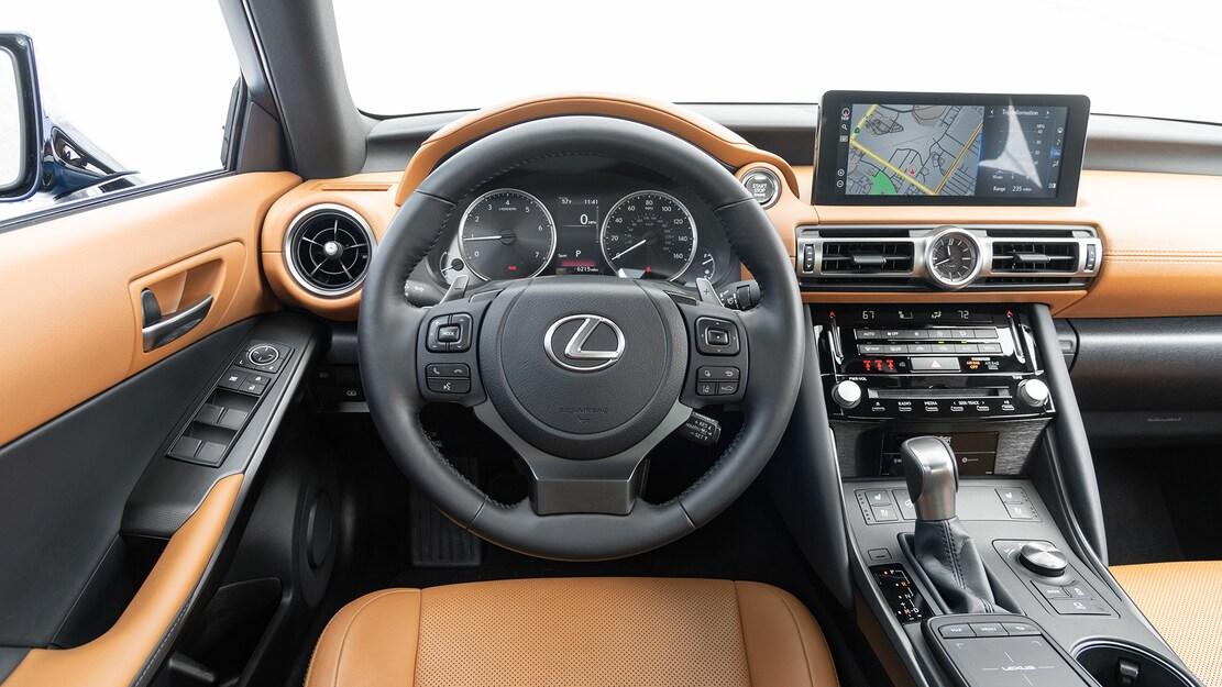 2021 Lexus IS 300 AWD interior detail 1