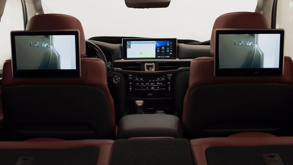 2021 Lexus LX 570 interior detail 3