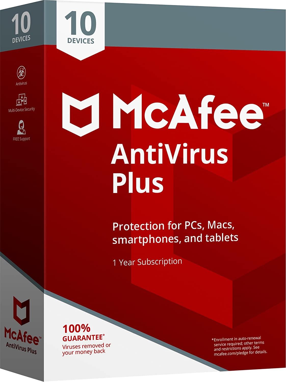 (McAfee AntiVirus Plus)