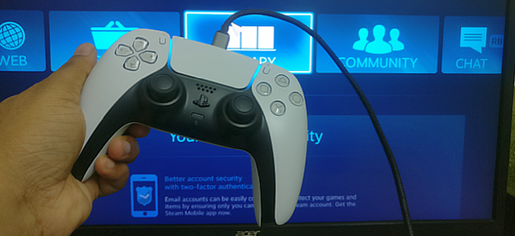 Use PS5 Controller on Windows 10