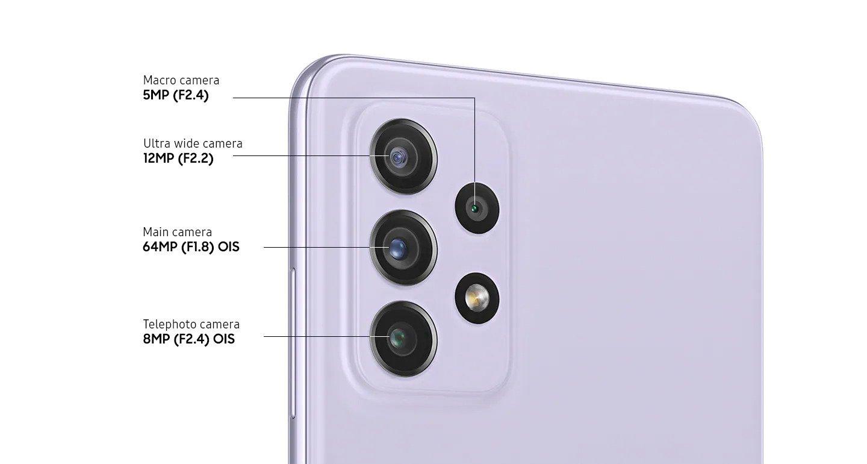 مقایسه اجمالی گلکسی A72 و گلکسی S21 FE سامسونگ؛ مشخصات نرم افزاری و دوربینها