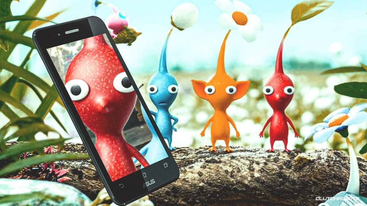 nintendo partners with niantic to develop pikmin ar game