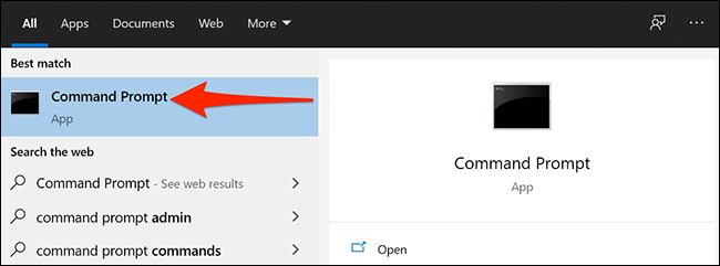 open command prompt 1
