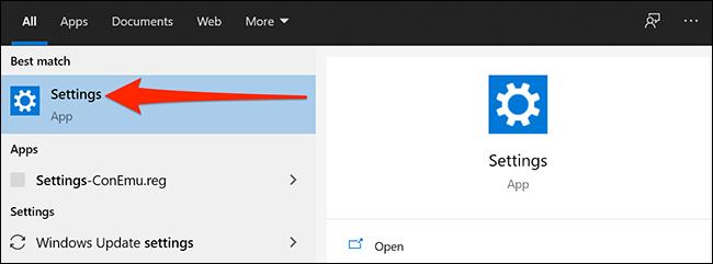 open settings 3