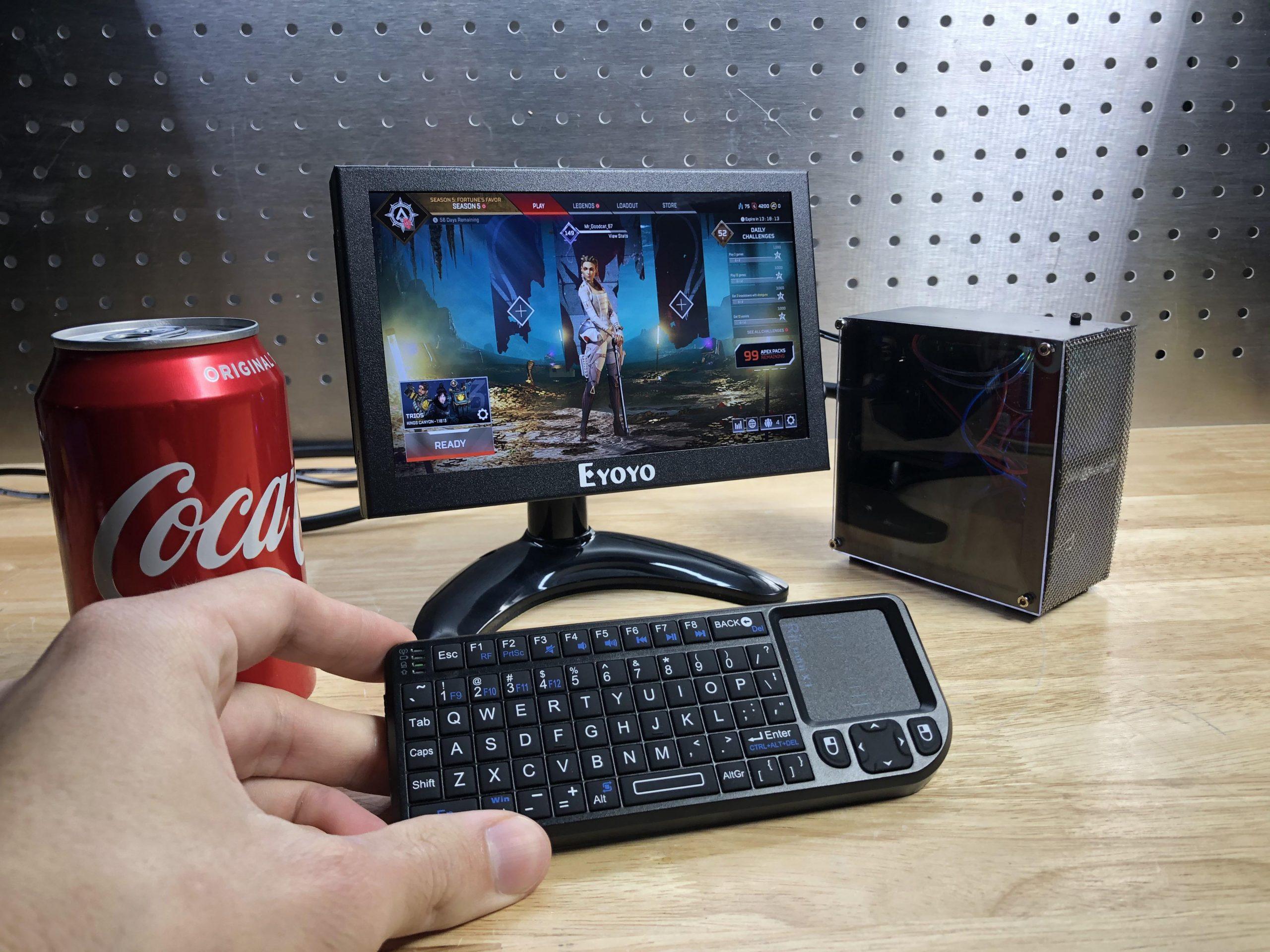 کوچکترین کامپیوتر گیمینگ جهان