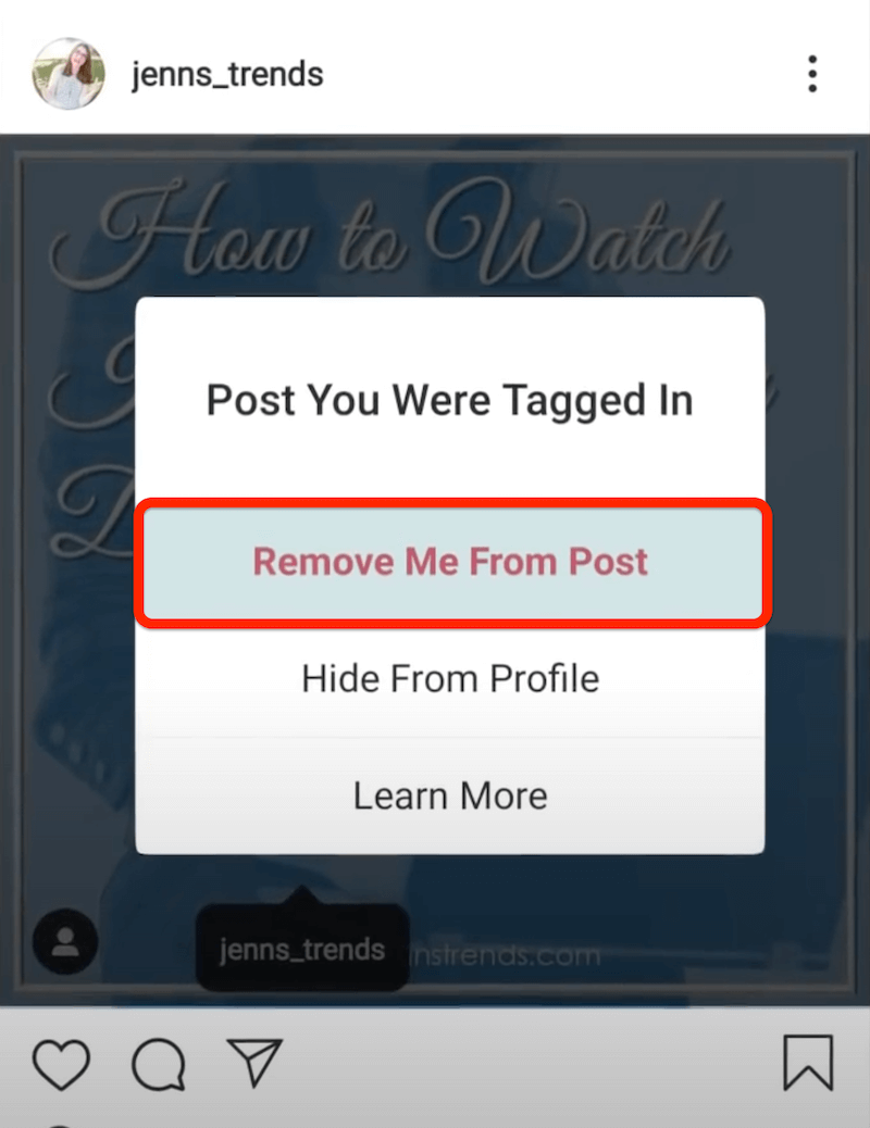 remove me from post on instagram step 2 400@2x 1