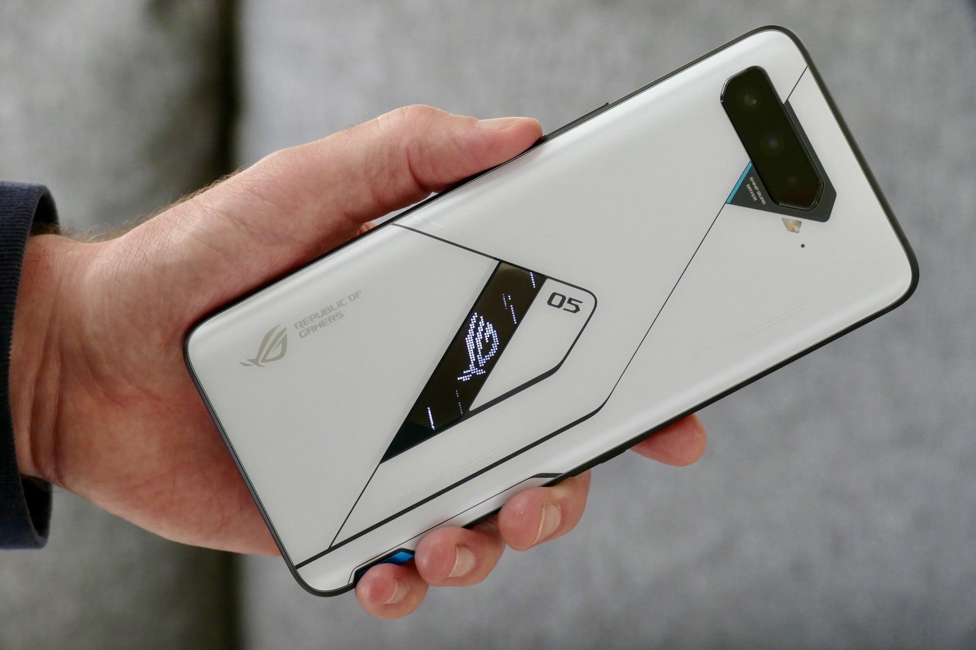 rog phone 5 ultimate phone back