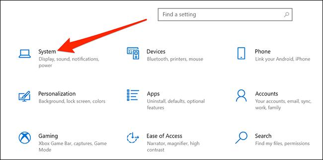 تنظیمات ویندوز