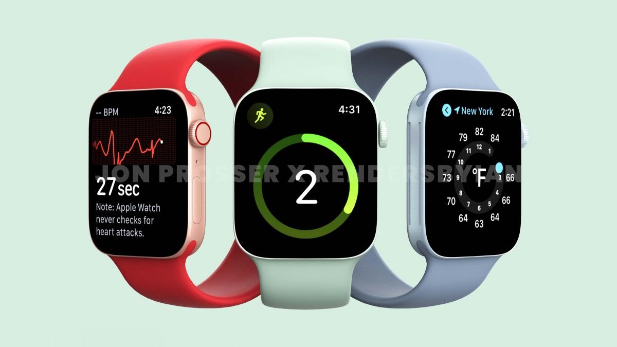 تصاویر ساعت هوشمند اپل واچ سری 7 به بیرون درز کردند