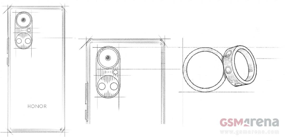 تصویر جدید گوشی آنر 50 طراحی دوربین متفاوت را تایید میکند