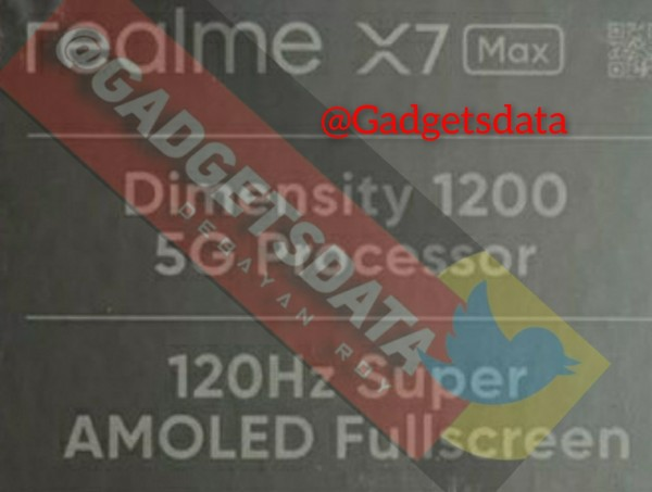 تصویر جعبه فروش گوشی ریلمی 7 ایکس مکس فایوجی لو رفت