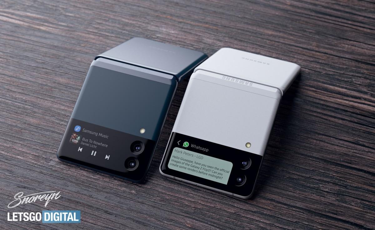 رندرهای جدید گوشی گلکسی زد فلیپ 3 چه اطلاعاتی به ما میدهند؟