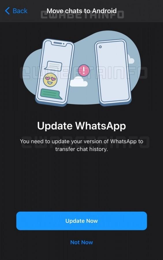 ویژگی جدید واتساپ چیست؟ دیگر از تغییر گوشی خود ترس نداشته باشید
