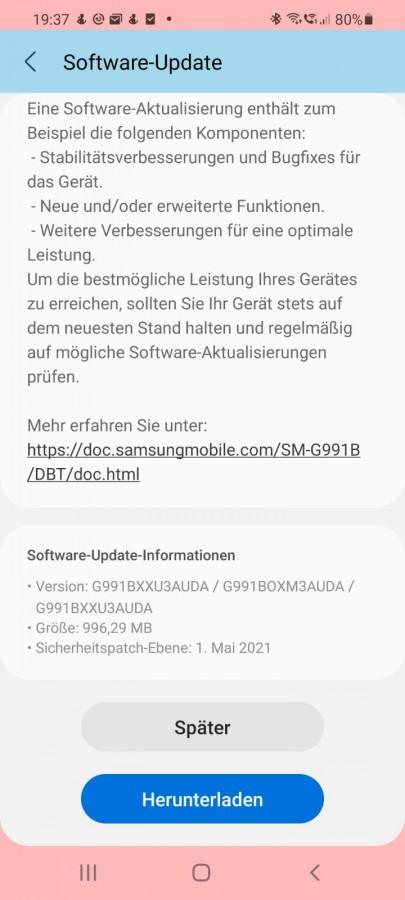 کدام گوشیهای سامسونگ بسته امنیتی ماه می را دریافت کردند؟