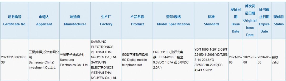 گوشی گلکسی زد فلیپ 3 سامسونگ چه سرعت شارژی خواهد داشت؟