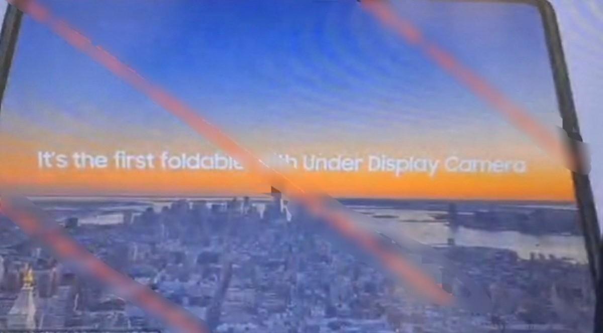 گوشی گلکسی زد فولد 3 یک دوربین زیر نمایشگر خواهد داشت