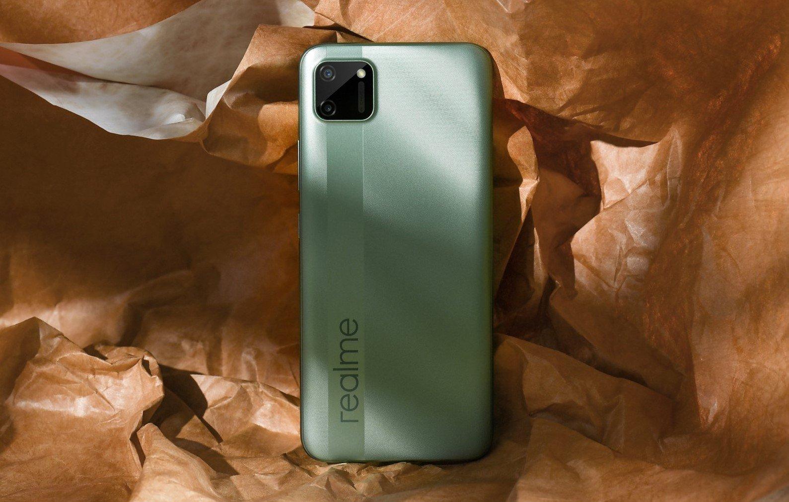 گوشی Realme C11 2011 با چیپست یونیساک وارد بازار روسیه خواهد شد