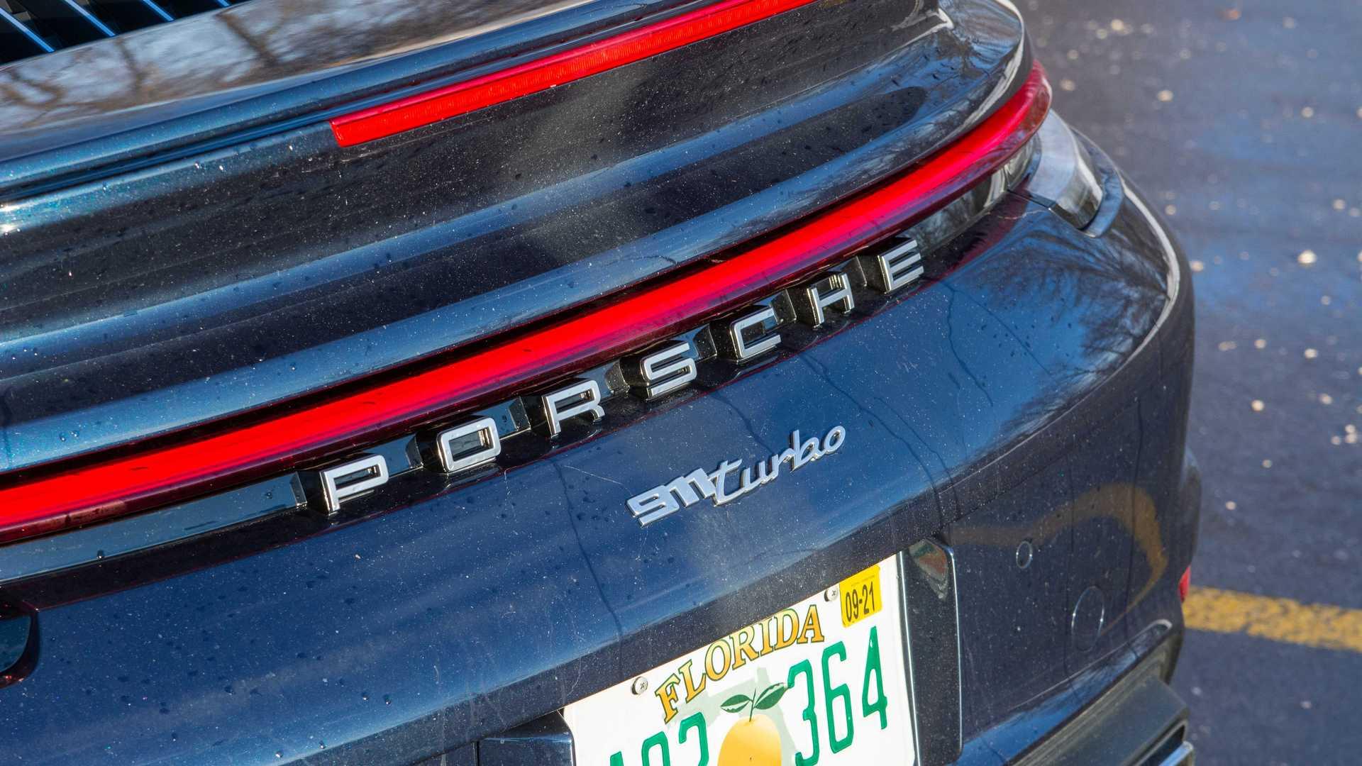 2021 porsche 911 turbo badge