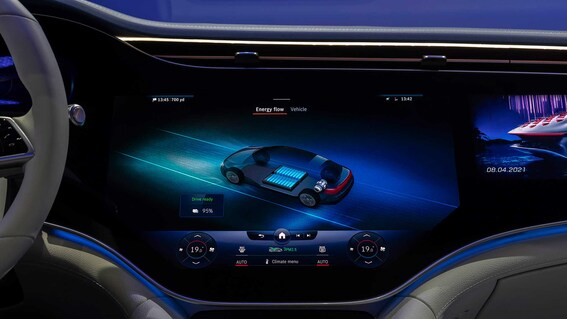 2022 Mercedes Benz EQS 4
