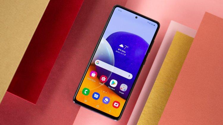 NextPit Samgung Galaxy A72 display