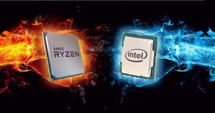 اینتل در برابر AMD: تیم قرمز، آبی را به آتش می کشد؟