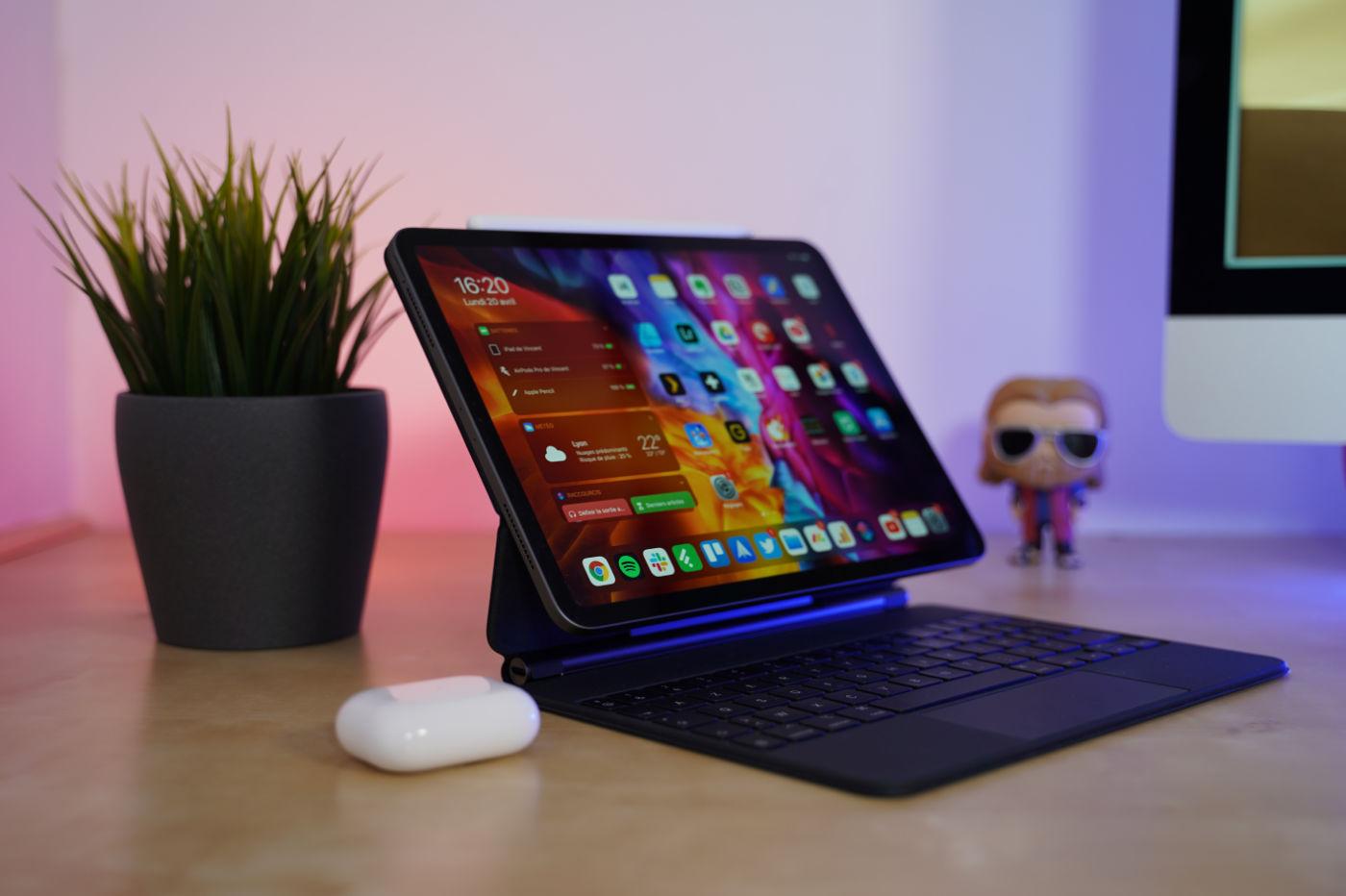 soon an ipad pro with a mini led screen