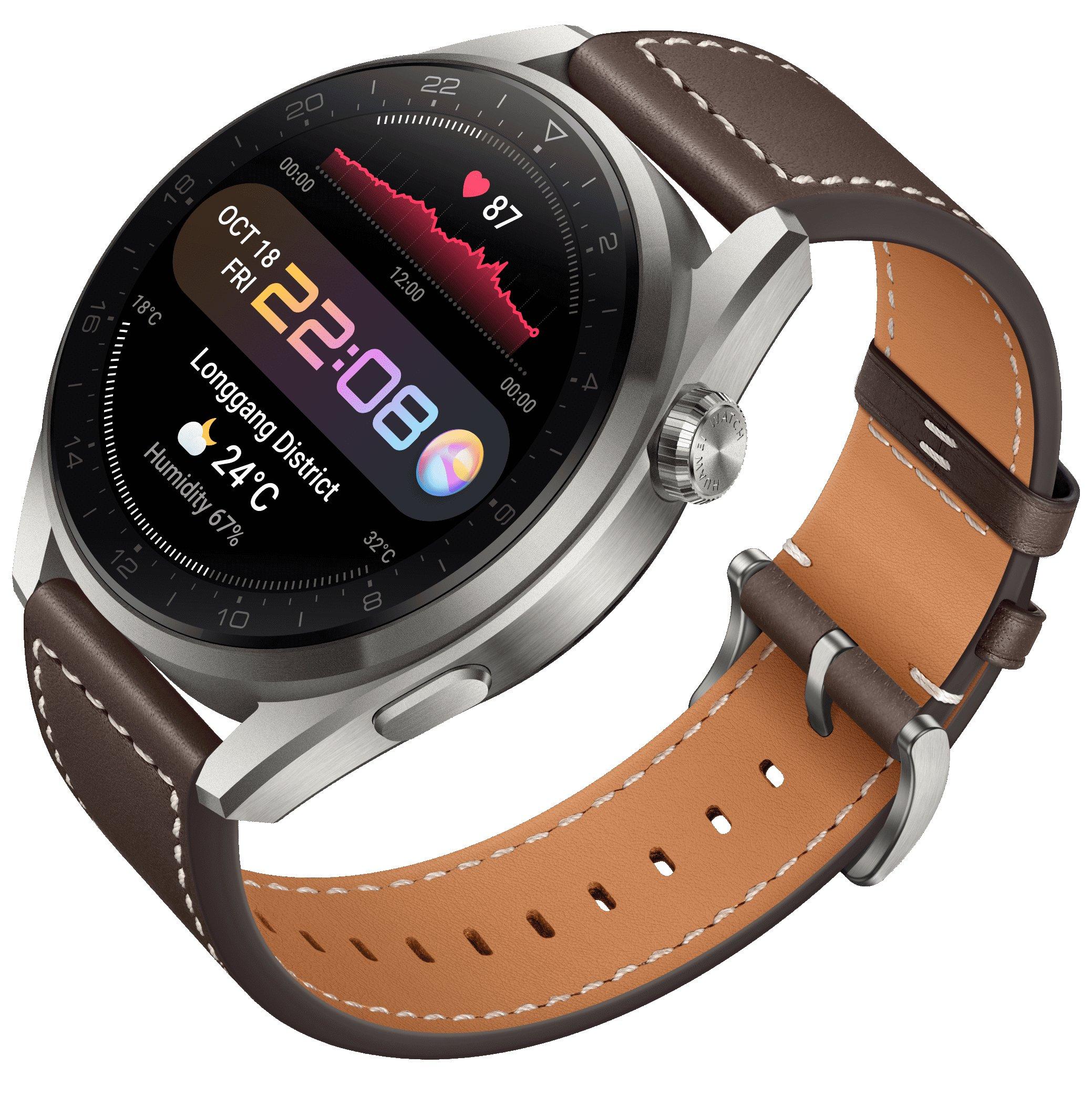ساعتهای هوشمند جدید واچ 3 و واچ 3 پرو هوآوی چه مشخصاتی دارند؟