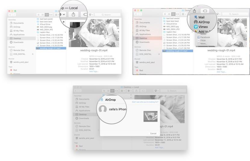 ایردراپ اپل چیست؟ آموزش ایردراپ در ایفون 1
