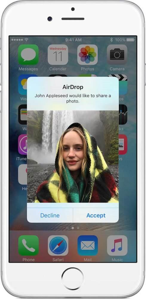 ایردراپ اپل چیست؟ آموزش ایردراپ در ایفون 2