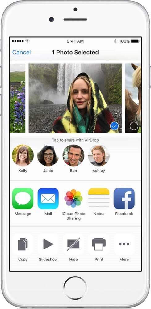 ایردراپ اپل چیست؟ آموزش ایردراپ در ایفون 3