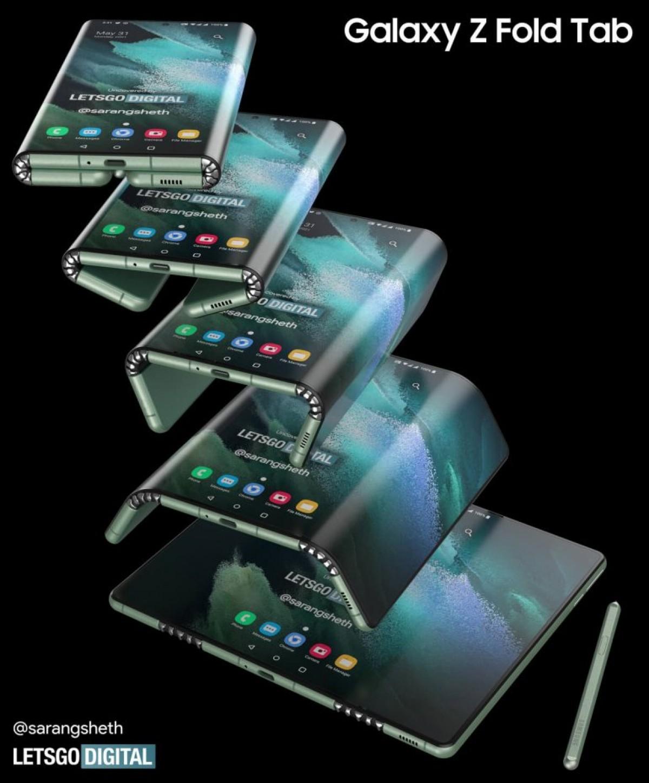 با طراحی دستگاه تاشو جدید زد فولد تب سامسونگ با قابلیت پشتیبانی از اس پن آشنا شوید