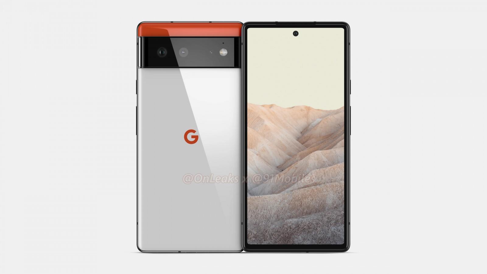 تصاویر قاب گوشی پیکسل 6 طراحی پیچیدهای را نشان میدهند