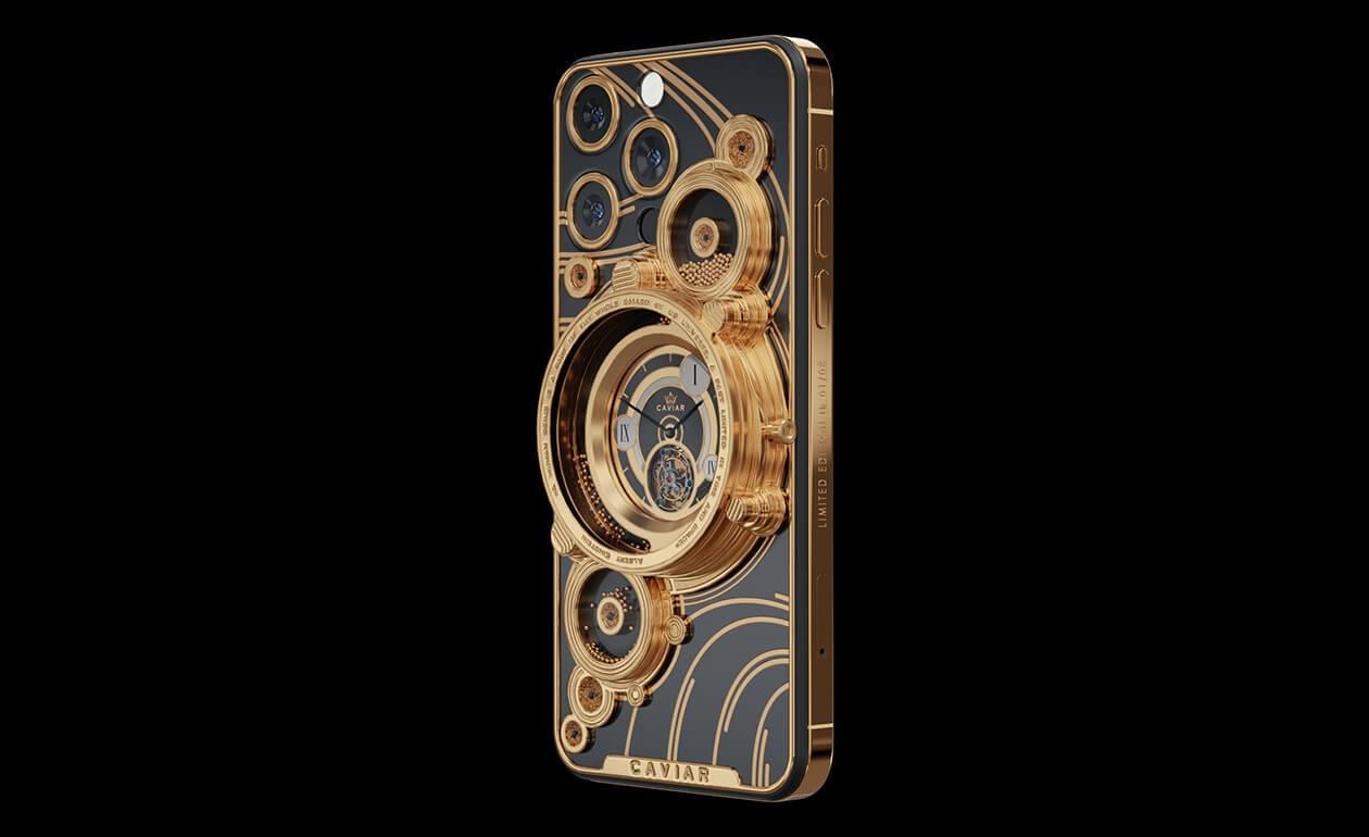 دو گوشی آیفون 13 پرو را با طراحی شهاب سنگ بخرید + ویدئو