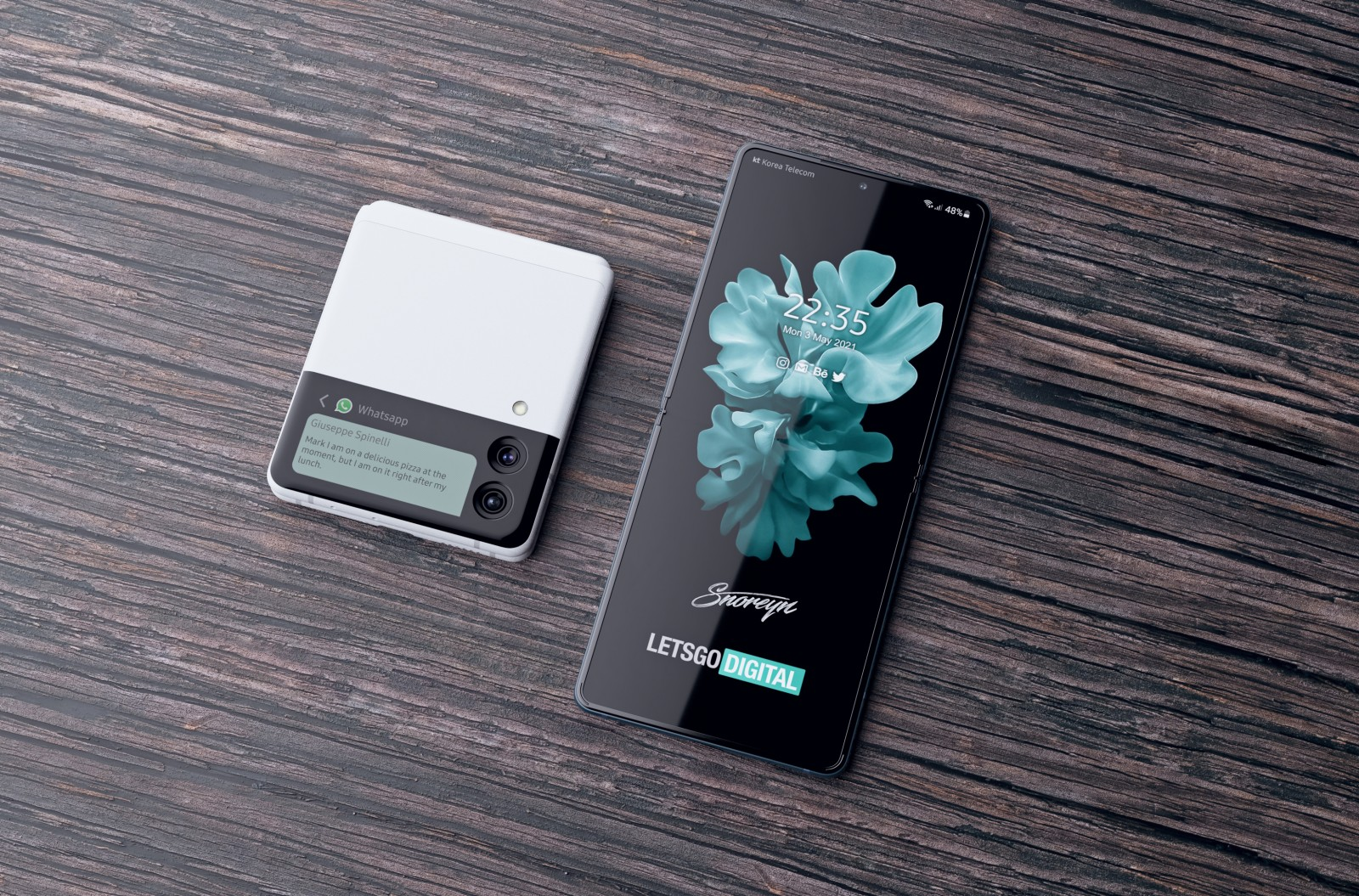 دو گوشی گلکسی زد فولد 3 و زد فلیپ 3 بهزودی در اختیار اپراتورها قرار خواهند گرفت 3