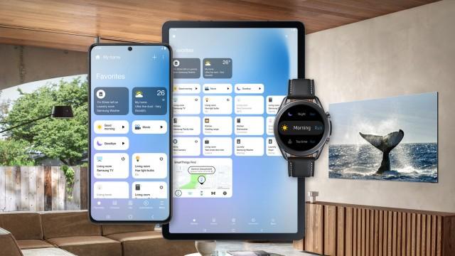 طراحی رابط کاربری اپلیکیشن SmartThings سامسونگ تغییر کرد