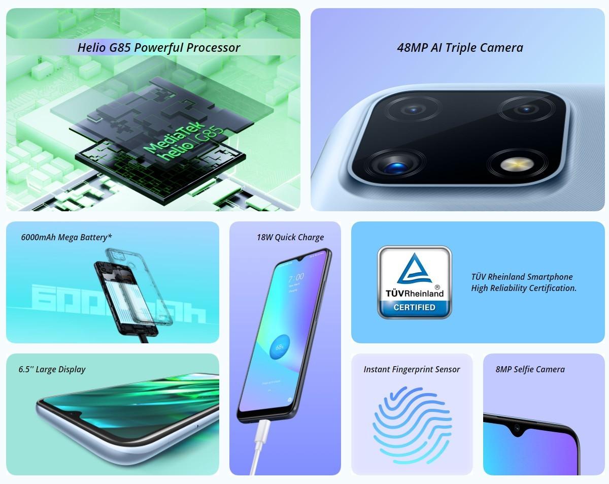 گوشی ریلمی C25s با دوربین 48 مگاپیکسل خارج از هند فروخته خواهد شد