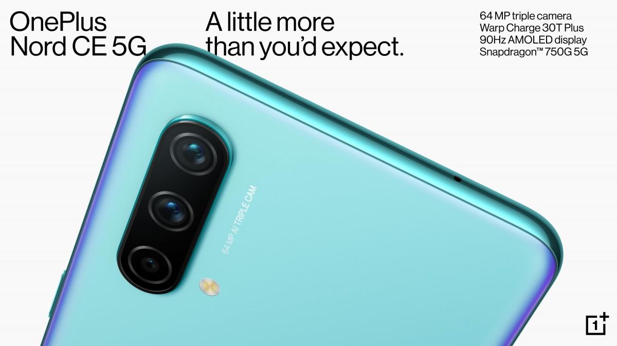 گوشی OnePlus Nord CE 5G رسما معرفی شد