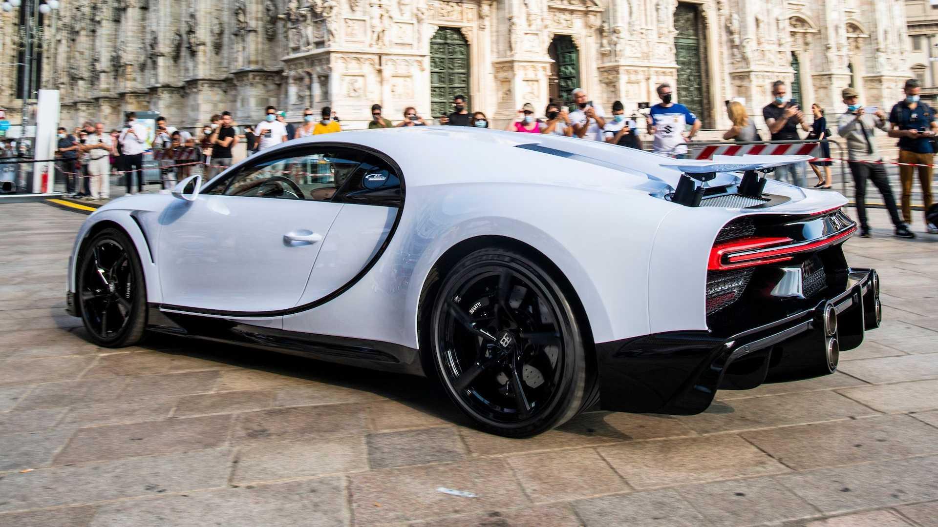 2021 bugatti chiron super sport public debut 1