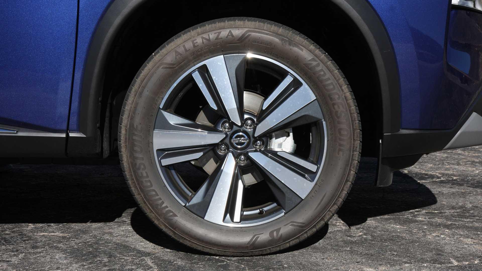 2021 nissan rogue sl exterior wheel