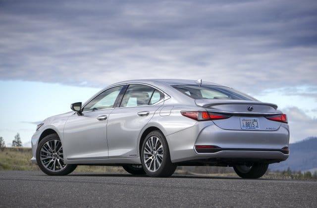 2021 Lexus ES Hybrid 1