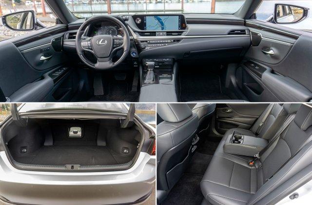 2021 Lexus ES Hybrid 2 1 2