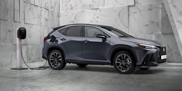 95 lexus nx 450h 2021 official reveal charging