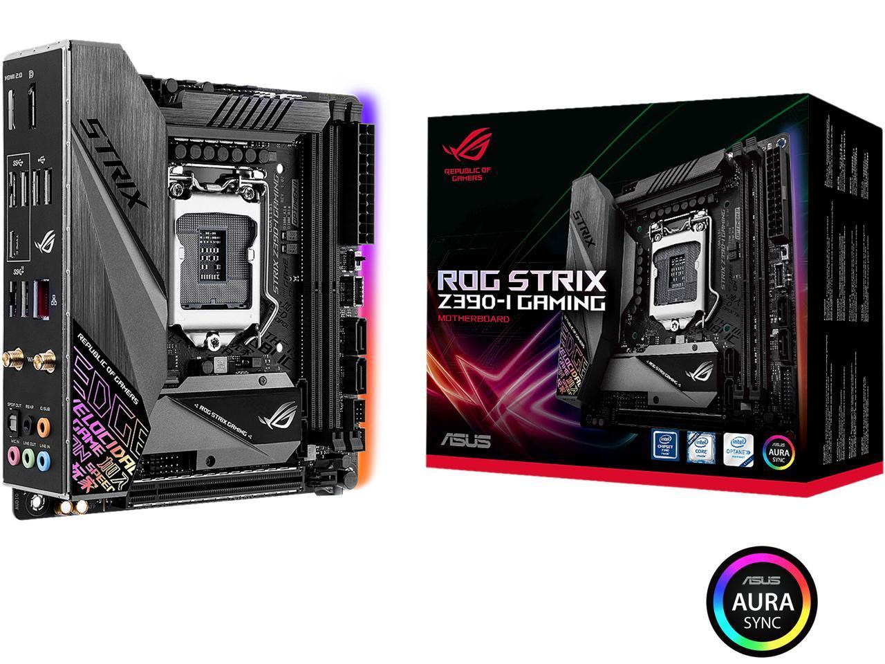 مادربرد ایسوس ROG Strix Z390-I Gaming