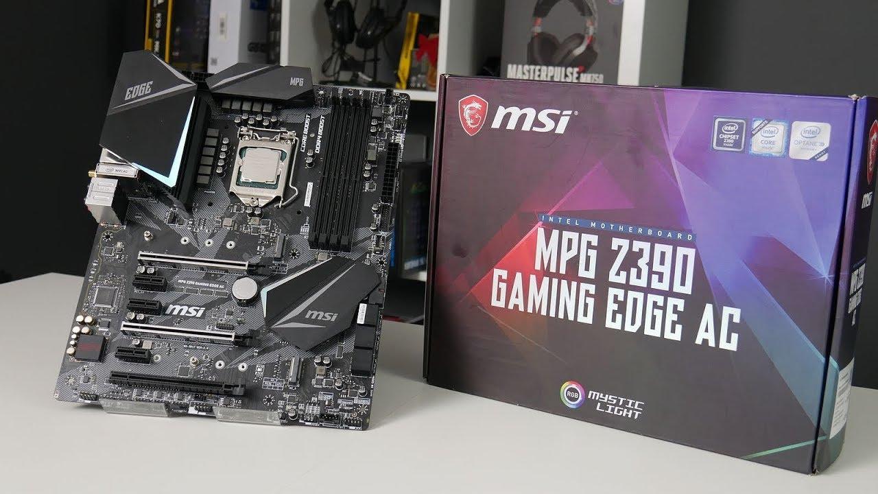 مادربرد ام اس آی MPG Z390M Gaming Edge AC
