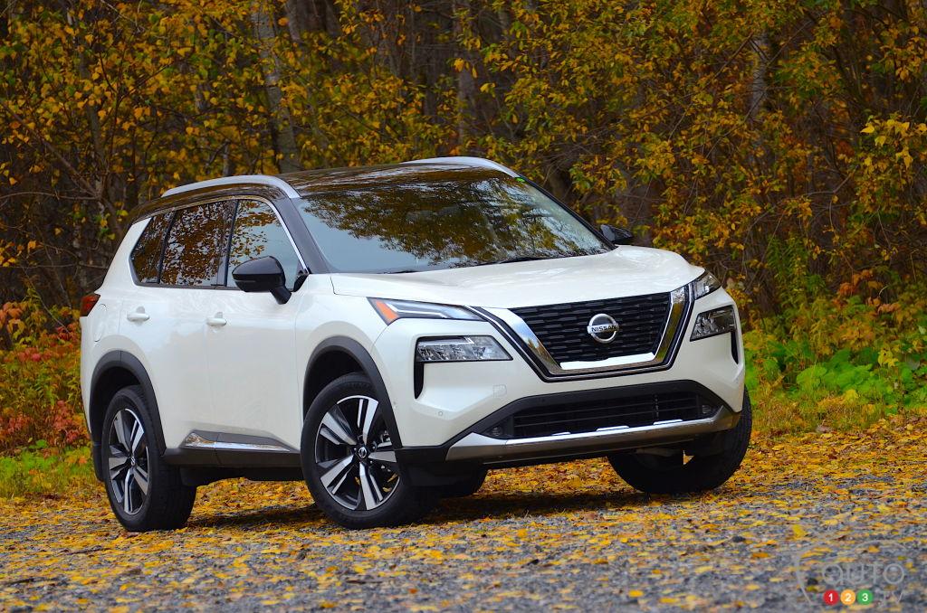 Nissan Rogue 2021 14fr