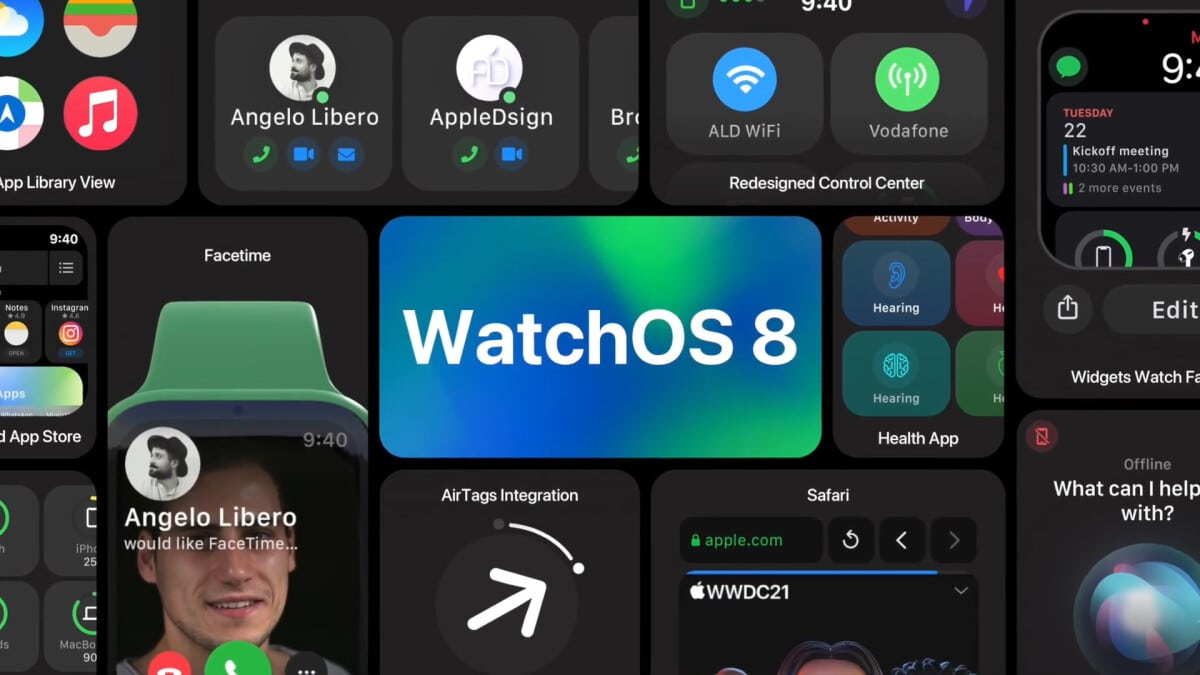 WatchOS 8 release date features and Apple Watch compatibility preview